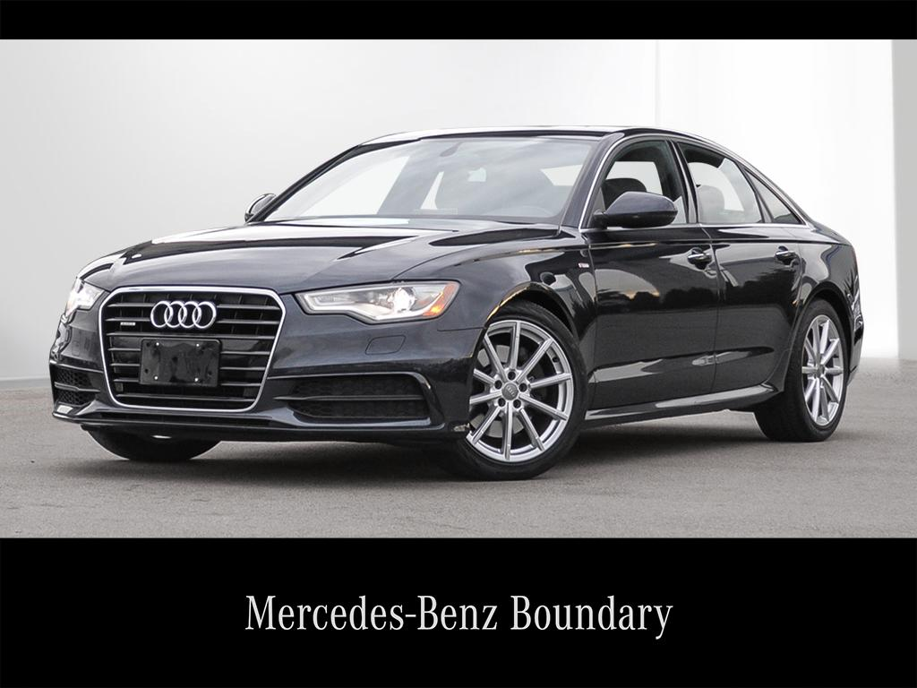 Pre-Owned 2015 Audi A6 A6